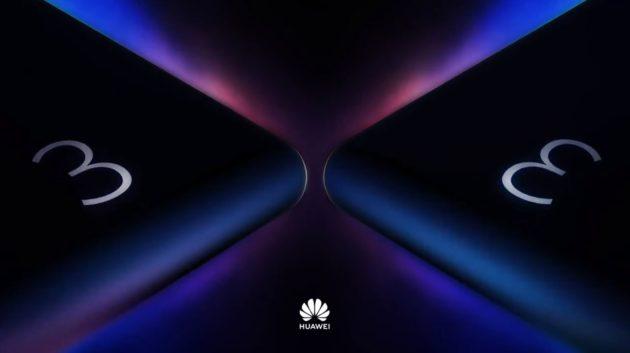 Tre giorni alla presentazione dello smartphone pieghevole Huawei