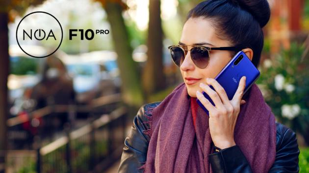 NOA F10 Pro: primo smartphone dell'azienda con tripla fotocamera
