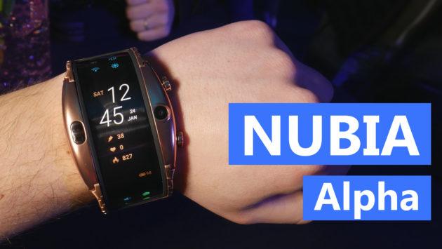 Nubia Alpha: smartwatch o smartphone pieghevole? | MWC 2019