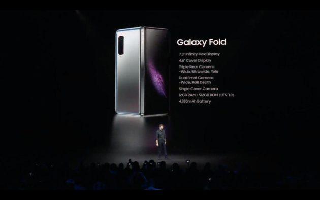 Samsung Galaxy Fold Ufficiale: Il primo smartphone che diventa tablet