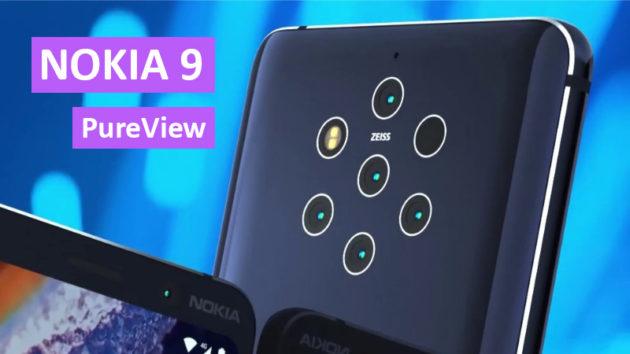 Nokia 9 PureView Ufficiale: il primo smartphone con cinque fotocamere ZEISS | MWC 2019