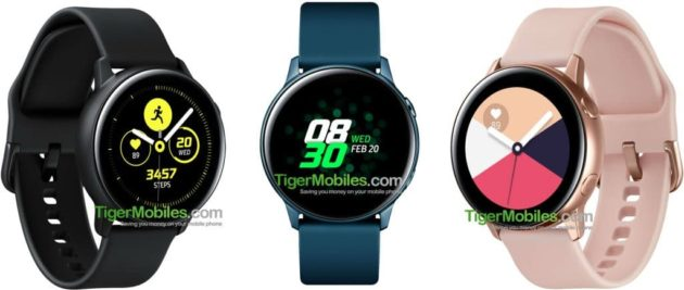 Samsung Galaxy Watch Active: svelate le specifiche tecniche complete