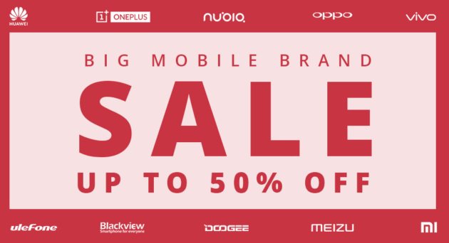 GeekBuying: Big Mobile Brand Sale
