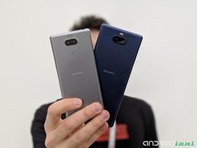 Sony Xperia 10 e 10 Plus Ufficiali: design slanciato grazie ai nuovi display 21:9 | MWC 2019