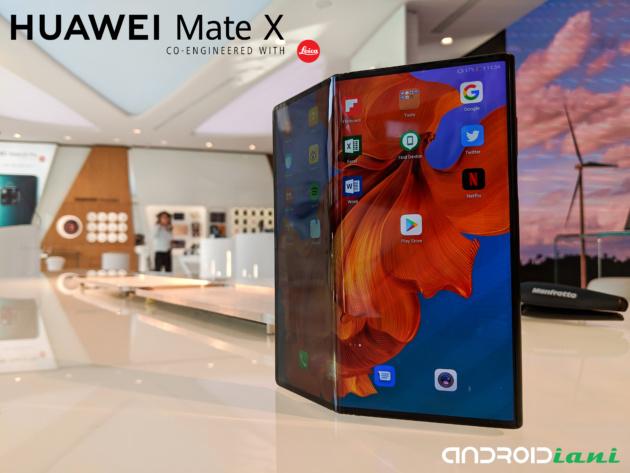 Huawei Mate X: il nostro hands-on con il foldable più atteso