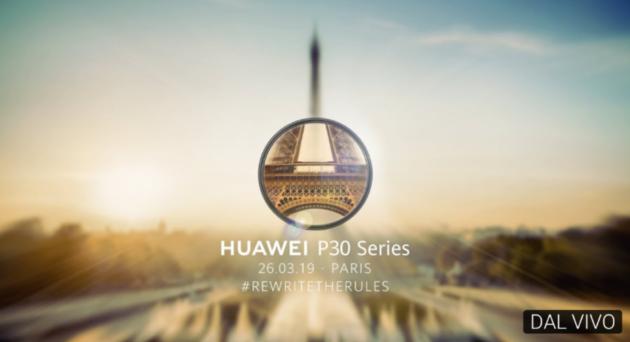 Huawei P30 e P30 Pro: segui la diretta LIVE STREAMING da Parigi