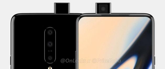 OnePlus 7: una fotocamera pop-up nei nuovi render