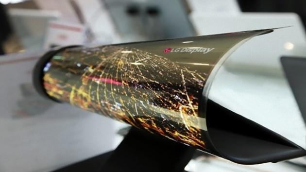 LG prepara il terreno per il suo smartphone arrotolabile