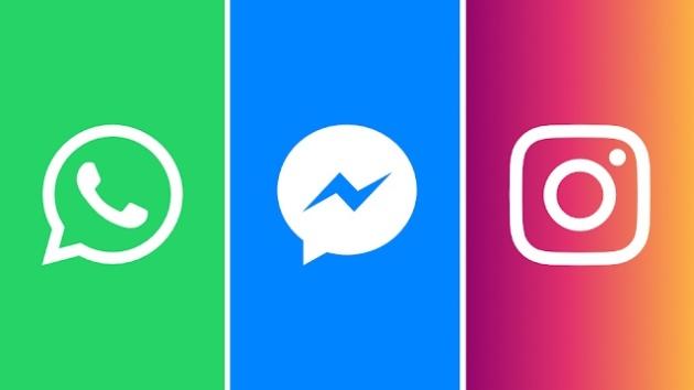 Facebook, Instagram e Whatsapp: al via la condivisione dei messaggi