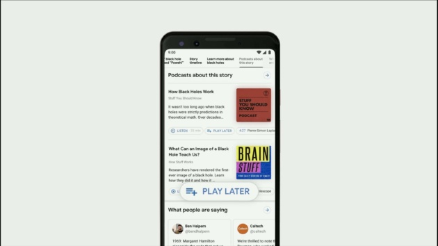 Google News e Podcast avranno una copertura completa su Search [I/O 2019]