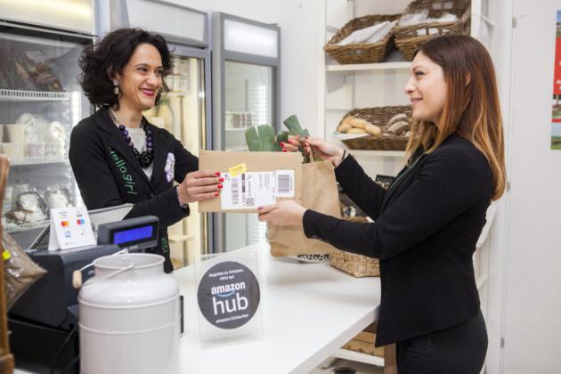 Amazon lancia Counter in Italia, ritiro disponibile in migliaia di punti vendita