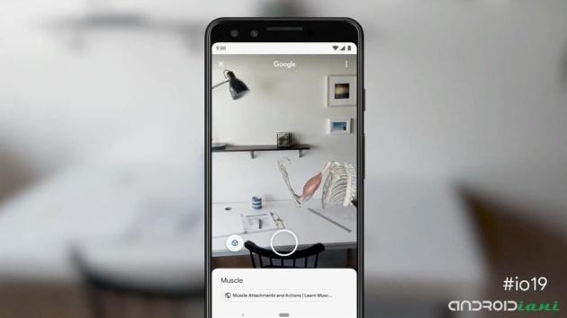 Google Search si arricchisce con i modelli 3D in Realtà Aumentata [I/O 2019]