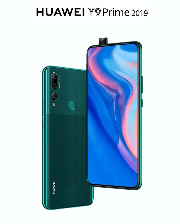 Huawei Y9 Prime 2019 Ufficiale: Kirin 710F, 4 BG di RAM e fotocamera pop-up da 16 MP