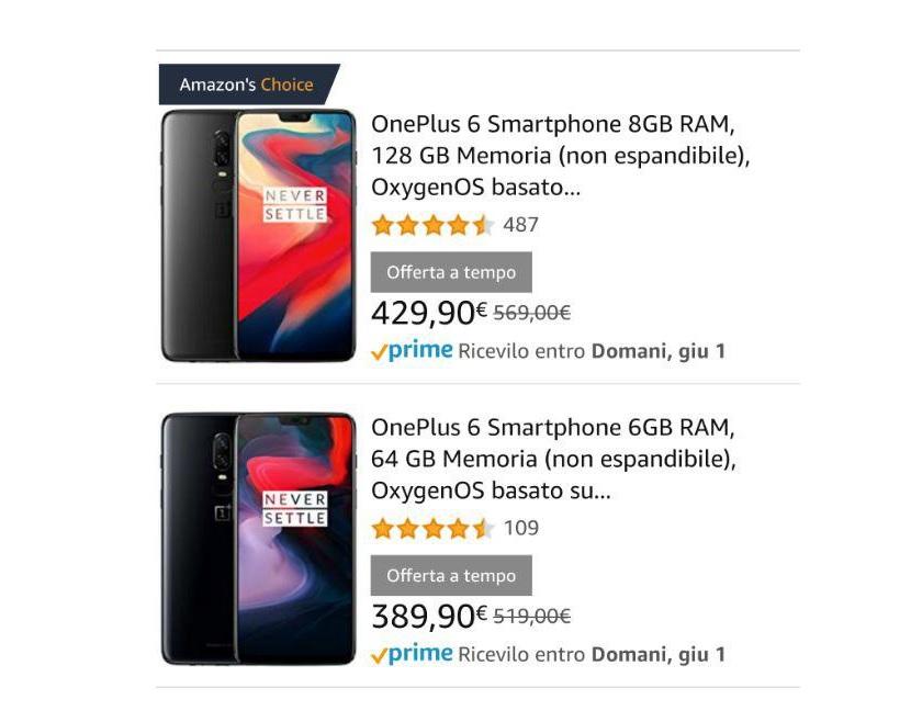 OnePlus Amazon