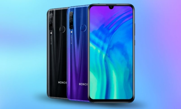 Honor 20 e 20 Pro Ufficiali: display da 6,26