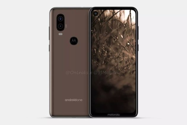 Motorola One Vision: svelato in anteprima dai render stampa