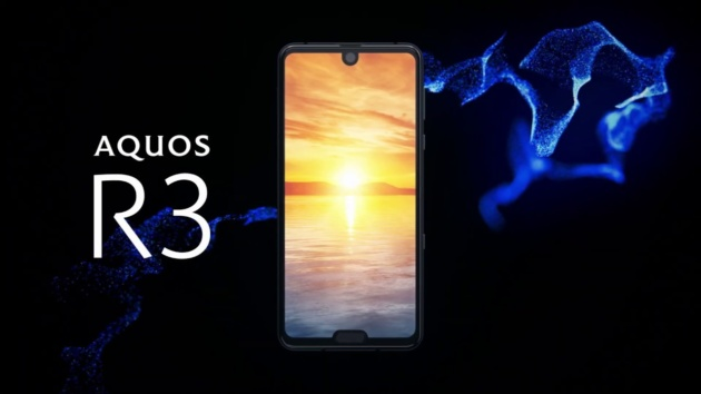 Sharp Aquos R3 Ufficiale: display con doppio notch, 6 GB di RAM e Snapdragon 855