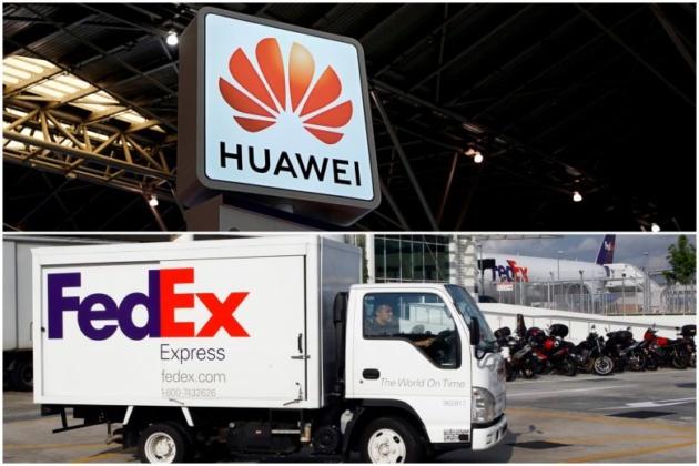 Huawei Ban: FedEx sembra rifiutarsi di spedire gli smartphone Huawei in USA