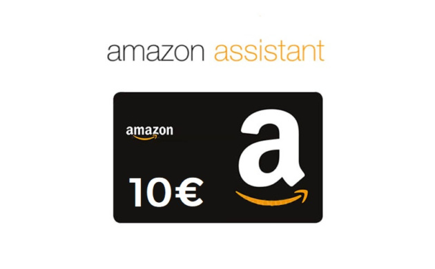 Amazon vi regala 10€ installando l'estensione Assistant
