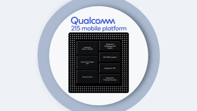 Qualcomm 215 ufficiale: un nuovo SoC a 64-bit per la fascia bassa