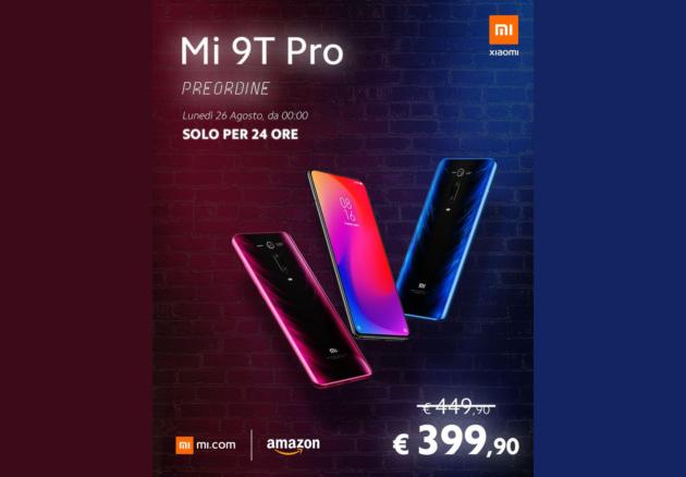 Mi 9T Pro in preordine su Amazon a soli 399€, ma dovrete essere veloci!