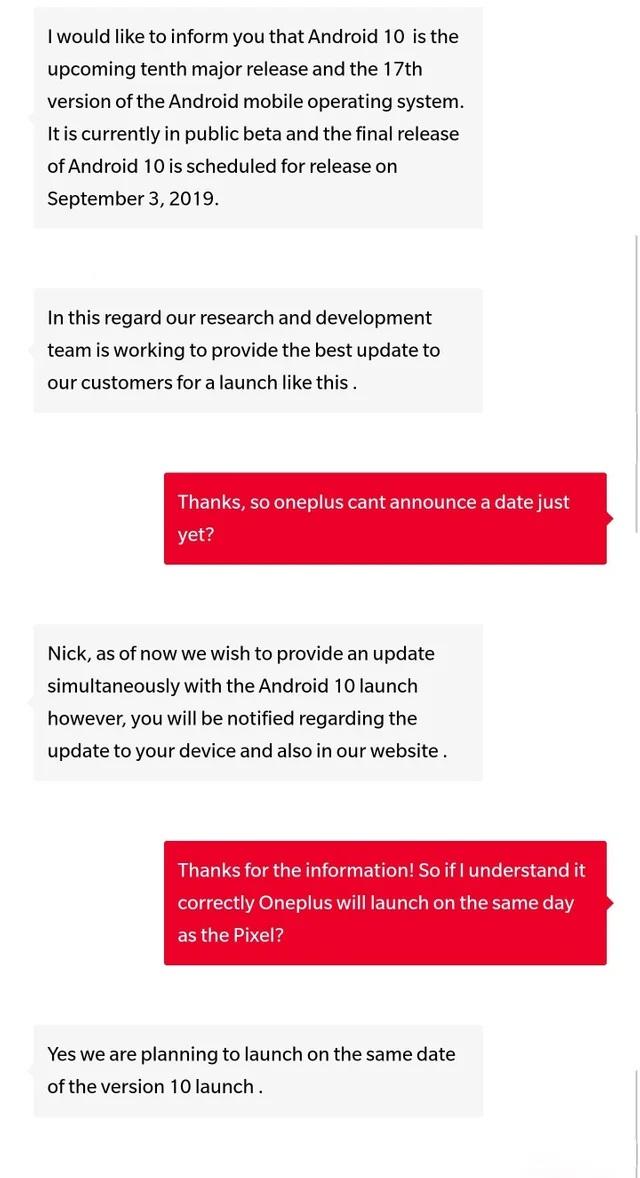 OnePlus Andoid 10