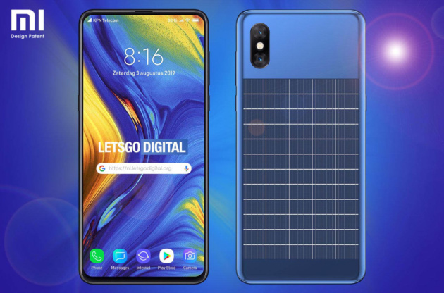 Da Xiaomi arriva uno smartphone con un pannello solare sul retro!