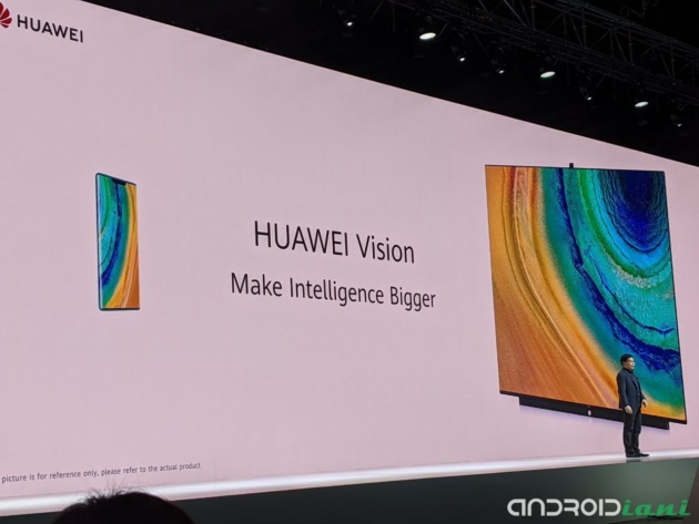 Arriva Huawei Vision TV: Harmony OS e fotocamera pop-up