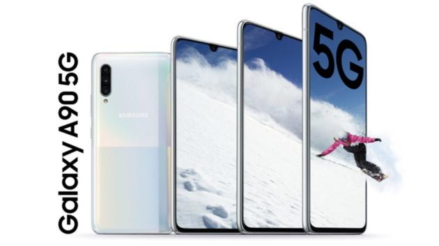 Galaxy A90 5G ufficiale: praticamente un top di gamma!