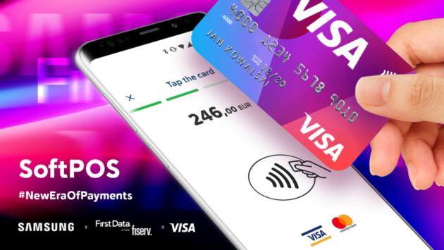 First Data, VISA e Samsung presentano SoftPOS all'IFA 2019
