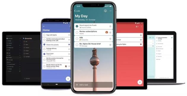 Microsoft crea la sua To-Do App dalle ceneri di Wunderlist