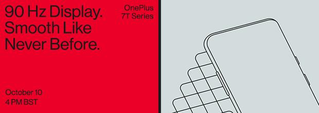 OnePlus 7T e 7T Pro con display a 90Hz verranno presentati in tre eventi dal 26 settembre