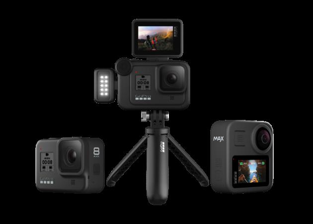 GoPro Hero8 Black e Max ufficiali: prezzi a partire da 429.99€ e tanti accessori