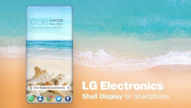 LG proverà a stupirvi con i display a conchiglia