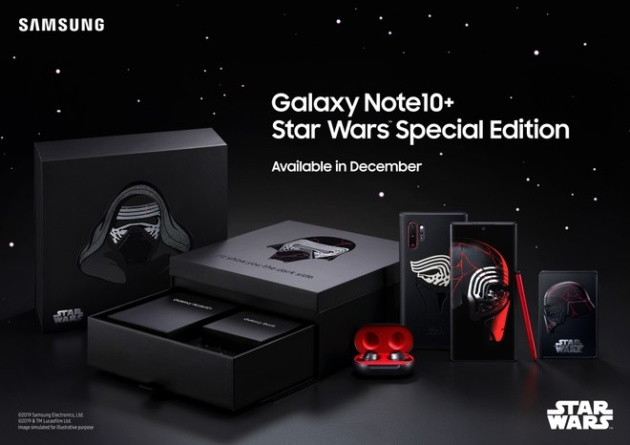 Samsung presenta un Note 10+ Star Wars Edition