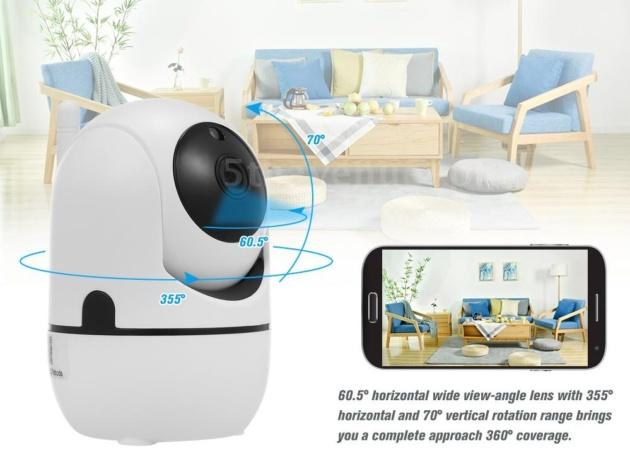 OWSOO: telecamera 360° in offerta