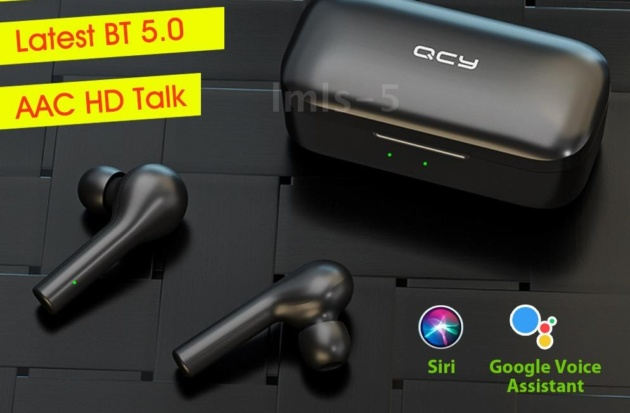 QCY T5: earbud wireless in offerta