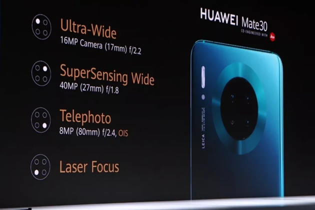 Huawei Mate 30 non contiene componenti americani