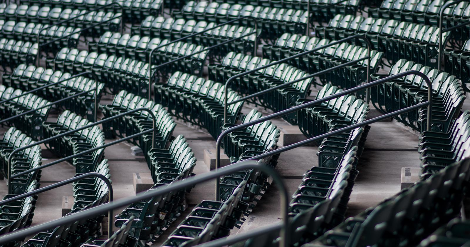 mvc empty seats coronavirus