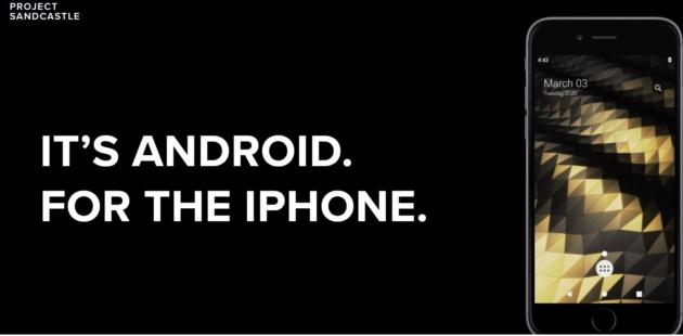Android 10 su iPhone? Ora si può grazie a Project Sandcastle