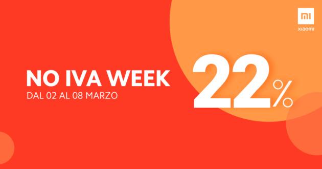 Xiaomi annuncia la settimana no IVA: ecco tutti i prodotti in sconto