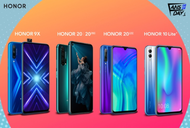 Arrivano gli Honor fans days su Amazon: Honor 20 Pro, 9X ed altri in offerta