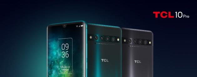 TCL 10 Pro, 10L e 10 5G ufficiali: display all'avanguardia, quattro fotocamere e prezzi niente male