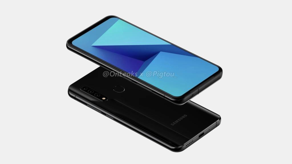 تعمل Samsung على أول هاتف ذكي بكاميرا منبثقة 1