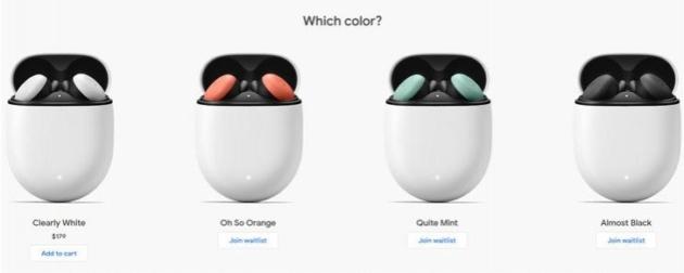 Google Pixel Buds disponibili all'acquisto in America