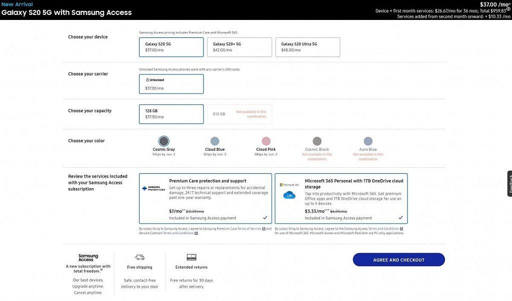 Samsung-Access
