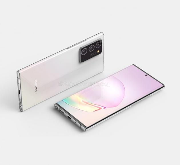 Altre immagini del Galaxy Note 20 Plus