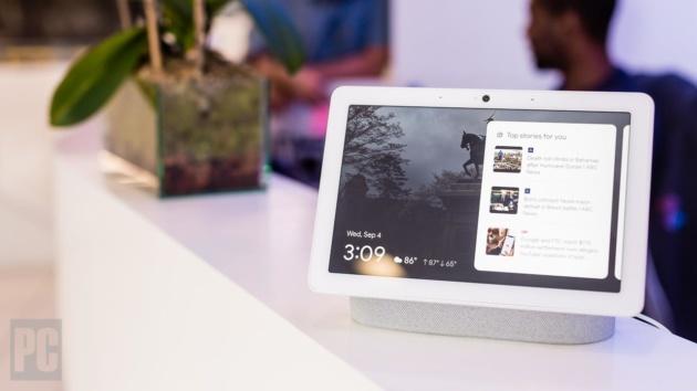 Google Nest Hub Max può ora effettuare videochiamate con Duo e Meet