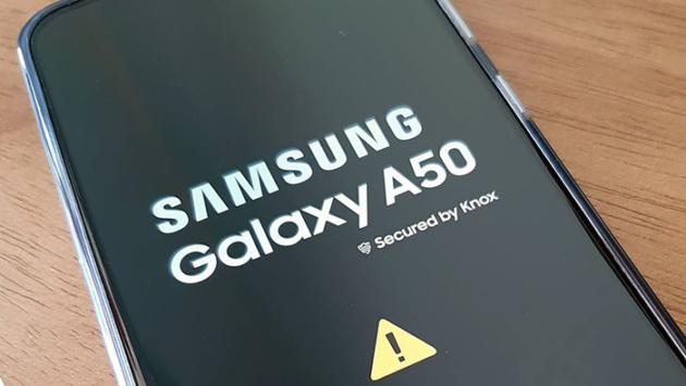 Questo sfondo rende inutilizzabili gli smartphone Samsung