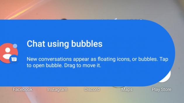 Google Messaggi aggiunge il supporto alle notifiche a bolla